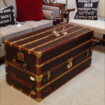 Vintage Trunks Sold: Shoe Trunk