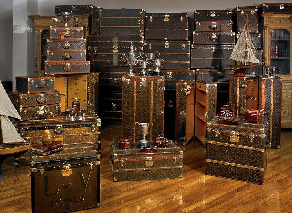 Vintage Louis Vuitton Trunk Room