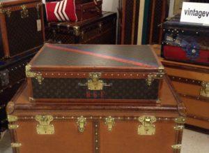 Vintage Louis Vuitton Hard Case